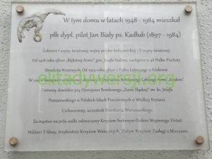 Bialy-Jan-tablica-bytom-300x225 Jan Biały - Cichociemny