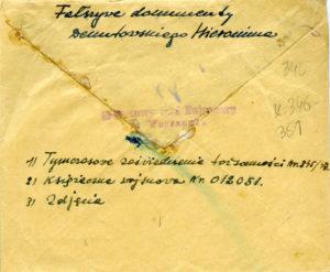Dekutowski-Hieronim-falszywe-dokumenty-zatrzymanie-16wrzesnia1947-01-300x247 Hieronim Dekutowski - Cichociemny