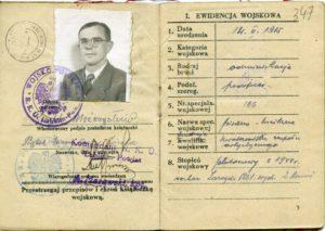 Dekutowski-Hieronim-ksiazeczka-wojskowa-300x213 Hieronim Dekutowski - Cichociemny