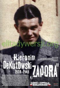 Dekutowski-Hieronim-plakat-Wojciech-Korkuć-206x300 Hieronim Dekutowski - Cichociemny