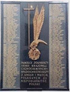PL_Warsaw_st_Hyacinth_church_cichociemni_commemorative_plaque-229x300 Jan Lech - Cichociemny