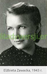 elzbieta_zawacka_1943 Elżbieta Zawacka - Cichociemna