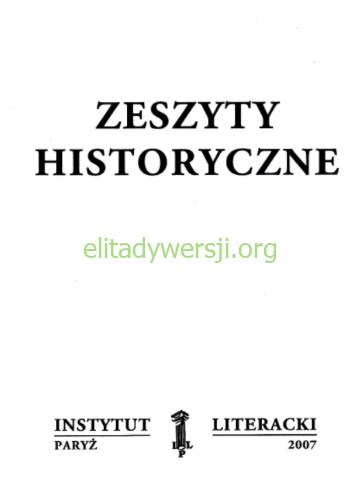 kultura-zeszyty-historyczne Publikacje