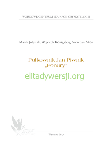 2013-Pulkownik-Jan-Piwnik_500px Publikacje