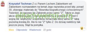 Tochman-pisownia-nazwiska-300x110 Lech Zabierek - Cichociemny