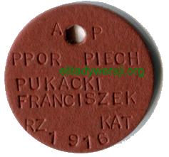 cc-Pukack-niesmiertelnik-1 Franciszek Pukacki - Cichociemny