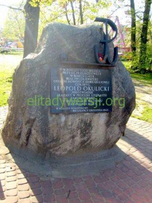 obelisk-Okulicki-grodzisk-300x400 Leopold Okulicki - Cichociemny