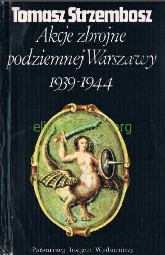 1983-strzembosz-akcje Publikacje
