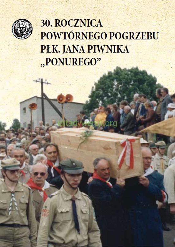 30.-rocznica-pogrzebu-Ponurego-okładka Publikacje