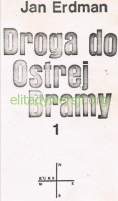 Erdman-droga-do-ostrej-bramy_500-234x400 Maciej Kalenkiewicz - Cichociemny