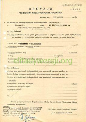 cc-Dekutowski-decyzja-bieruta-284x400 Hieronim Dekutowski - Cichociemny