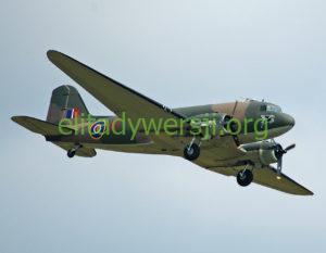 Dakota_III_Douglas-C-47-300x233 Romuald Bielski - Cichociemny