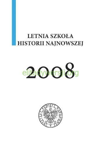 Letnia-szkola-2008 Publikacje