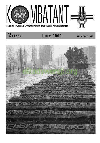 Kombatant-2002-02 Publikacje