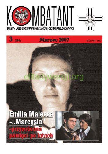 Kombatant-2007-03 Publikacje