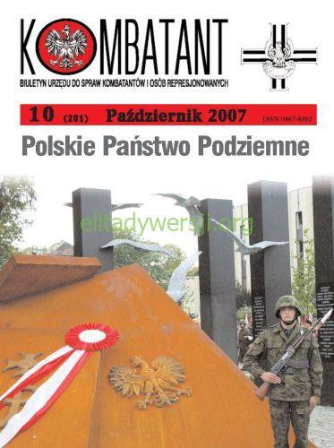 Kombatant-2007-10 Publikacje