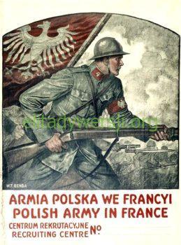 Armia_Polska_Francja_plakat-259x350 Julian Kozłowski - Cichociemny
