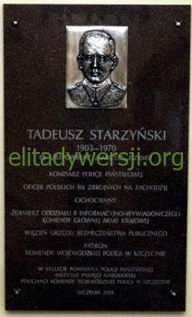 cc-Starzynski-Tadeusz-tablica-KWP-Szczecin-212x350 Tadeusz Starzyński - Cichociemny