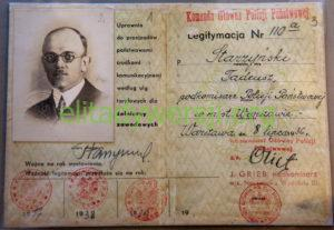 cc-Starzynski-leg-policja-300x207 Tadeusz Starzyński - Cichociemny