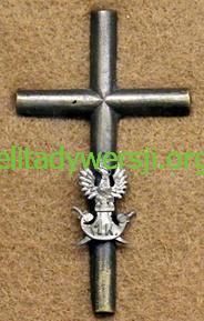 Odznaka_I_korpus_w_Rosji Adolf Łojkiewicz - Cichociemny