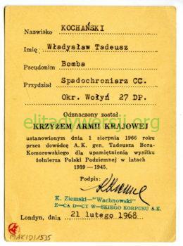 mak-d-1535-b-260x350 Władysław Kochański - Cichociemny
