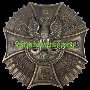 Odznaka-9-PPLeg-300x299 Mieczysław Kwarciński - Cichociemny