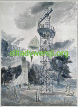 A-training-tower-for-parachutists-Edward-Bawden-1943-257x350 Cichociemni - szkolenie