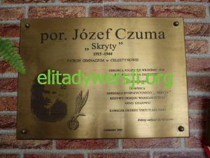 Czuma-Jozef-tablica-Celestynow-300x225 Józef Czuma - Cichociemny