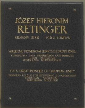 Krakow-Jozef_Retinger_plaque-277x350 Józef Retinger