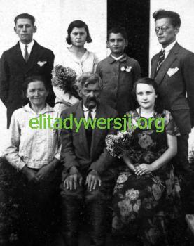 """Hartman-rodzina-277x350 płk. Józef Hartman - """"ojciec cichociemnych"""""""