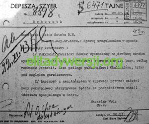 cc-Okulicki-Ostunia-szyfrogram-300x249 Leopold Okulicki - Cichociemny