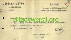 pierwsza-depesza-powstania-300x169 Zrzuty dla Powstania Warszawskiego