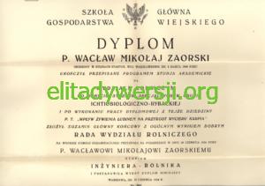 WZ-Dyplom-300x211 Wacław Zaorski - Cichociemny