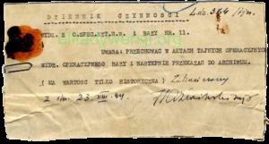 ozn_Dziennik-czynnosci-mjr-Jazwinskiego_600px-300x161 Franciszek Cieplik - Cichociemny