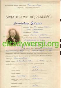 AGH-Grun-sw-dojrzalosci_1-210x300 Bronisław Grun - Cichociemny