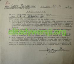 Grun-deklaracja-P1080491-250x218 Bronisław Grun - Cichociemny