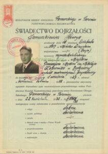 Henryk-Januszkiewicz.68-sw-dojrzalosci_1-212x300 Henryk Januszkiewicz - Cichociemny