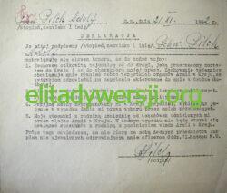 Pilch-deklaracja-250x213 Adolf Pilch - Cichociemny