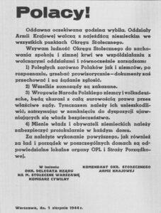 Odezwa_1_sierpnia_1944-227x300 Powstanie Warszawskie